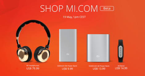 xiaomi accessories in us, uk, france, germany, price, date, flash sale