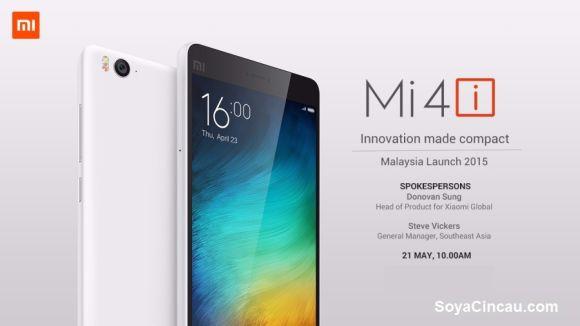 xiaomi mi 4i launch malaysia, release date, news, info