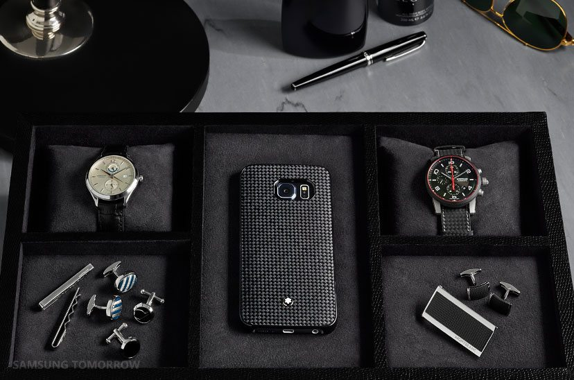 Montblanc case for samsung galaxy s6