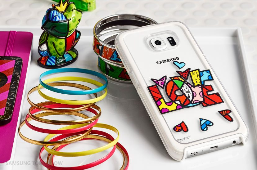 Romero Britto design for galaxy s6