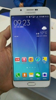 Samsung Galaxy A8, india, pics, import, details, testing