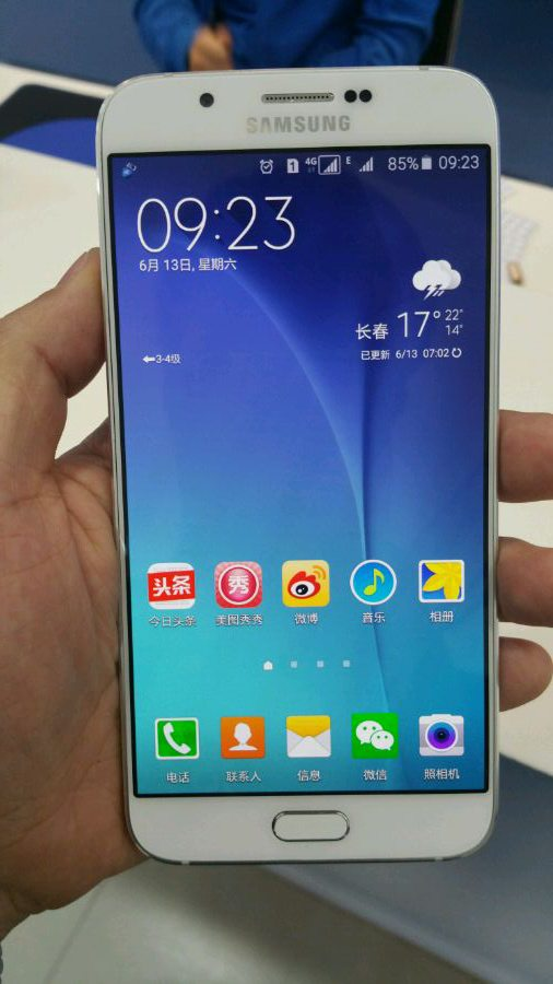 Samsung Galaxy A8, india, pics, import, details, testing