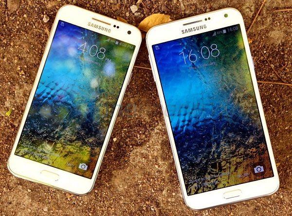 samsung galaxy e5, galaxy e7, android lollipop, software update, date
