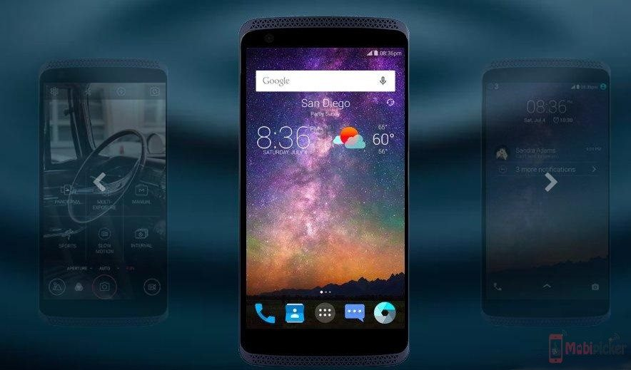First Smartphone with Force Touch Screen, ZTE Axon Mini