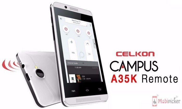 celkon campus a35k remote, price, specs, features, specification