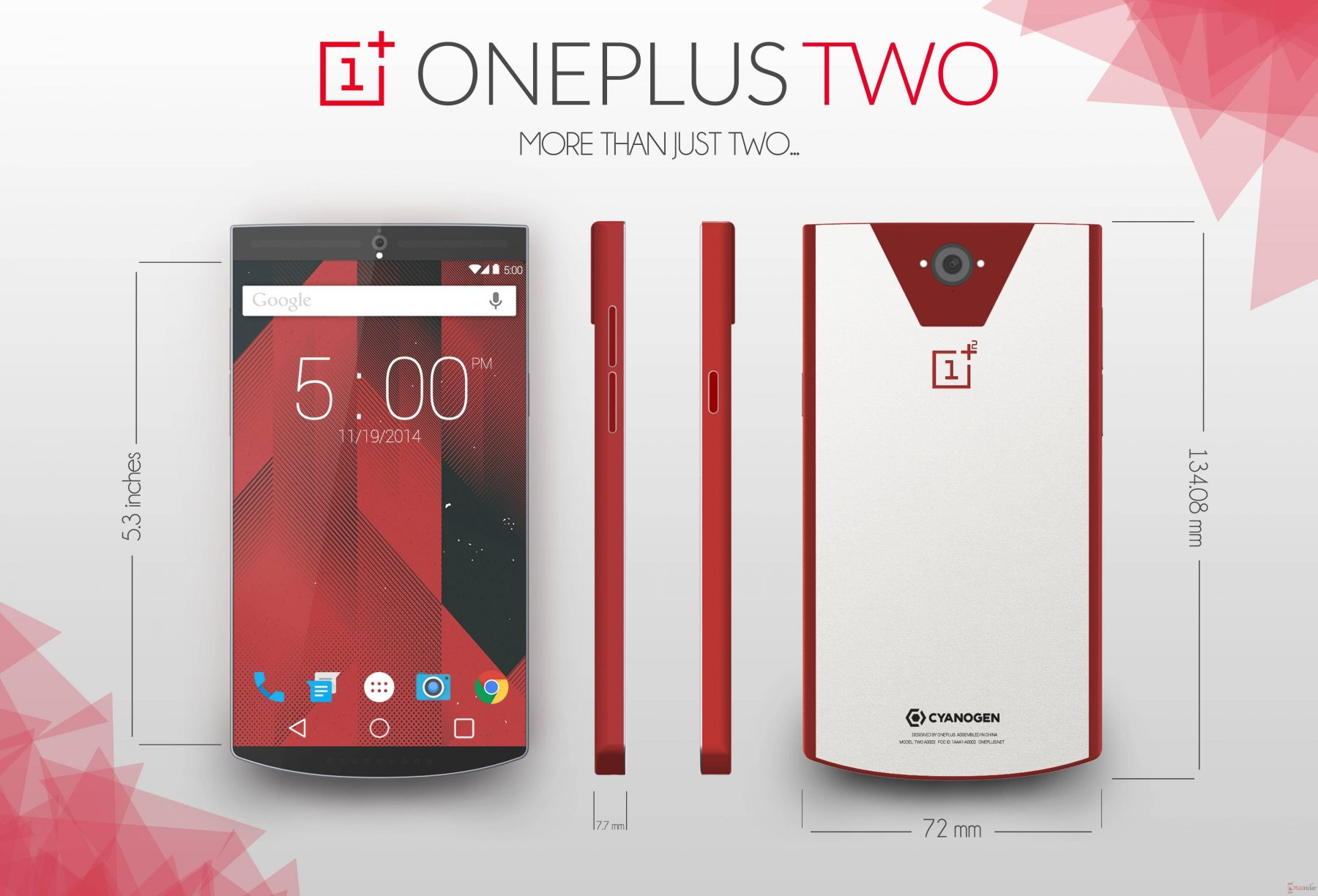 OnePlus, Two, image, photo, smartphone