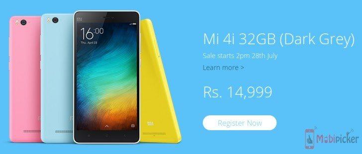 Xiaomi Mi 4i_32GB RAM