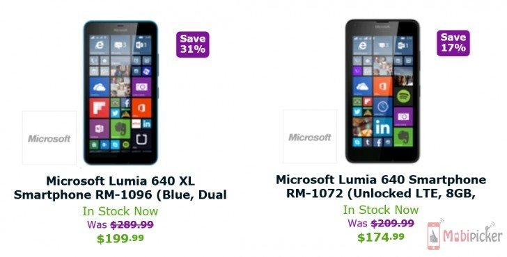 Expansys USA cuts price of Lumia 640 and 640 XL