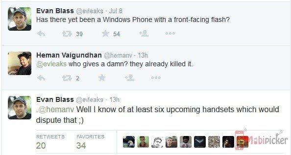 microsoft, front flash, upcoming smartphone, 6 handsets, leaks