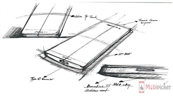 oneplus 2, leaks, rough sketch, camera, metal, glass, specification