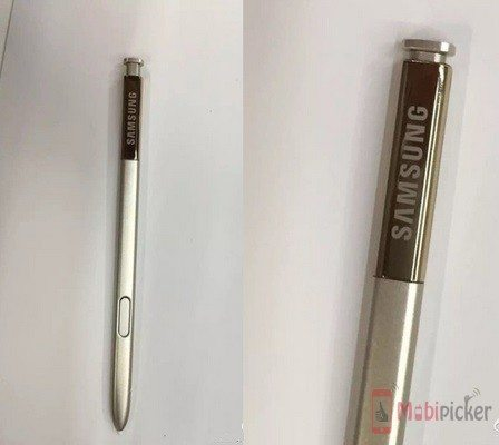 New S Pen for the Samsung Galaxy Note 5 leaked?