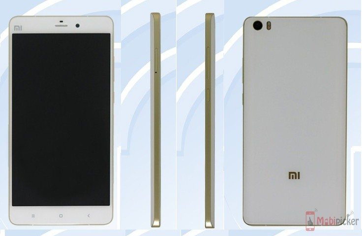 xiaomi mi5 plus, leaks, tenaa, specification, image