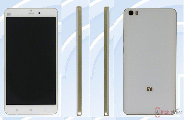 xiaomi mi5 plus, leaks, tenaa, specification, image