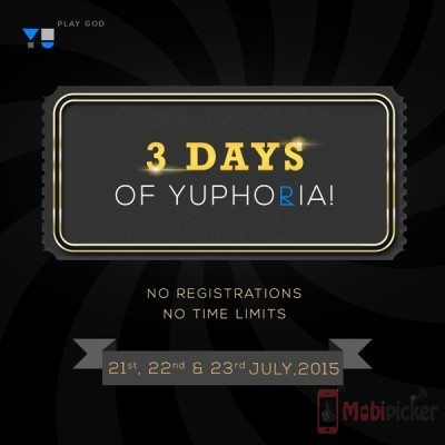 yu yuphoria open sale in india, without registration, no flash sale