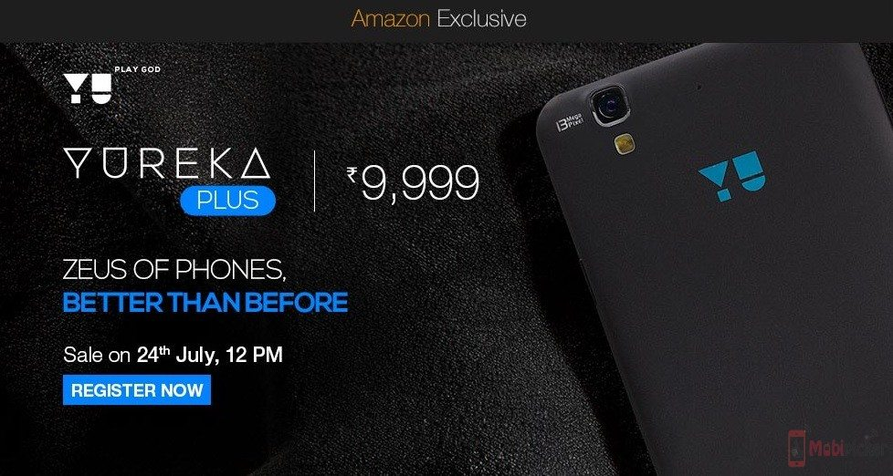 yu yureka plus, yureka 2.0, launch, amazon, flash sale
