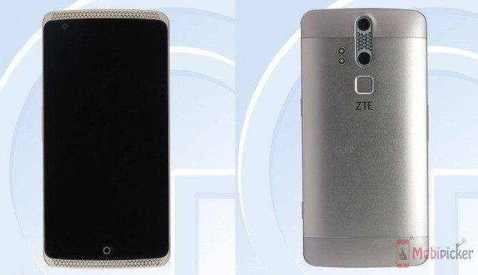 ZTE Axon Fingerprint sensor variant passes through TENAA