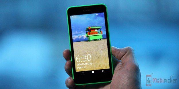 The Lumia 630