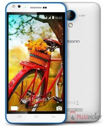 Karbonn Titanium Mach Five, image,features, front view