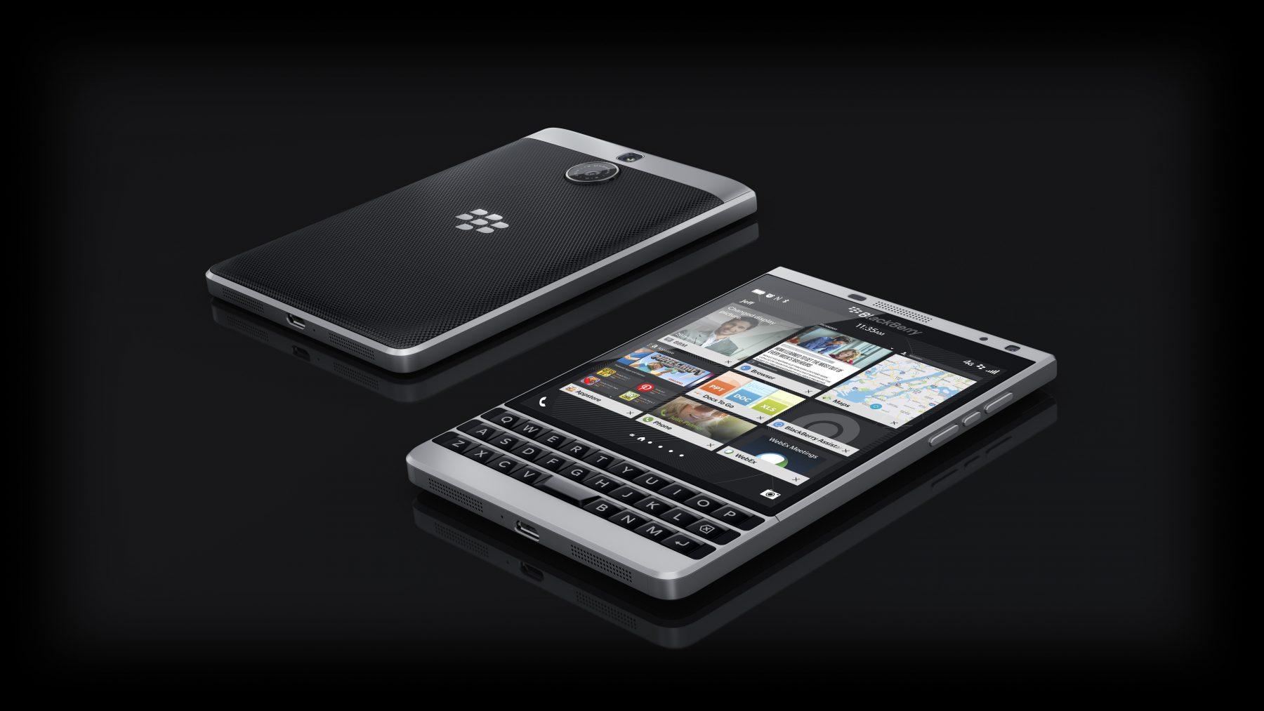 BlackBerry Passport_Silver_