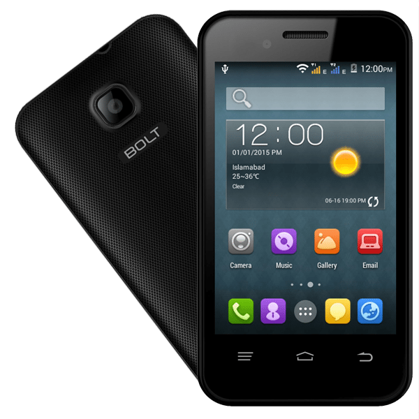 Qmobile Bolt T5 image, specs, features, price, specifications