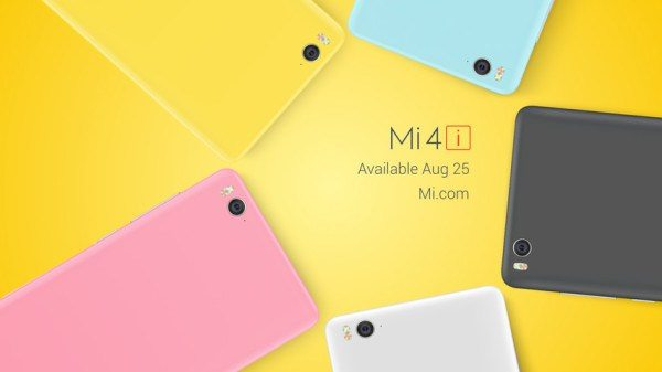 xiaomi mi4i limited edition, india, flash sale date