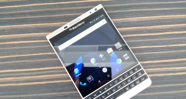 blackberry passport silver edition running android, image, leaks