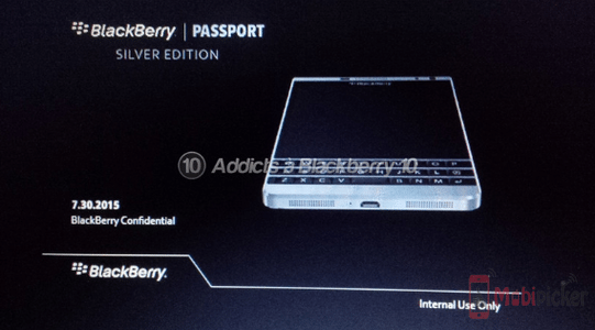 blackberry passport silver edition, leaks, rumors, slide leak, blackberry dallas