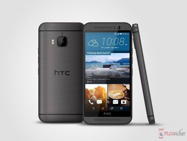 htc one m9, android 5.1 lollipop, software update