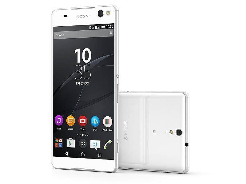 sony xperia c5 ultra, launches in india, price, image