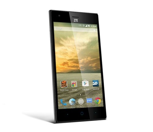zte wrap elite, price on boost mobile, image, contract free