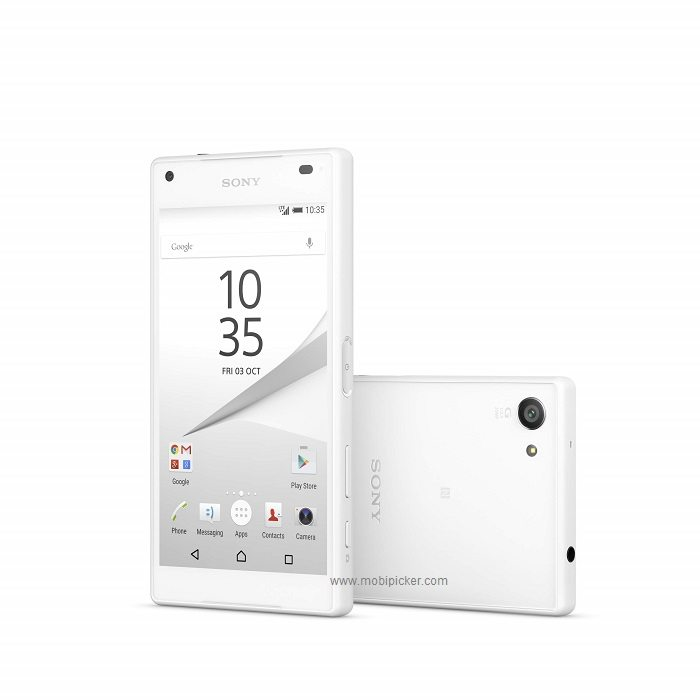sony xperia z5 compact unveils