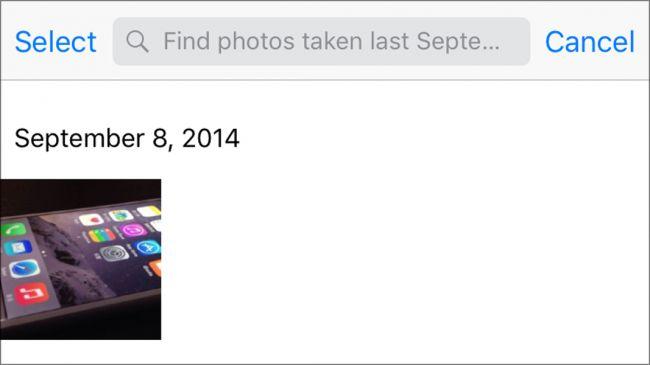 Siri searching photos