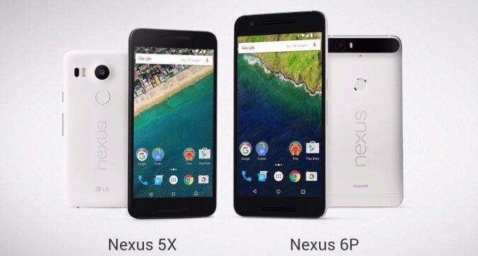 lg nexus 5x, huawei nexus 6p