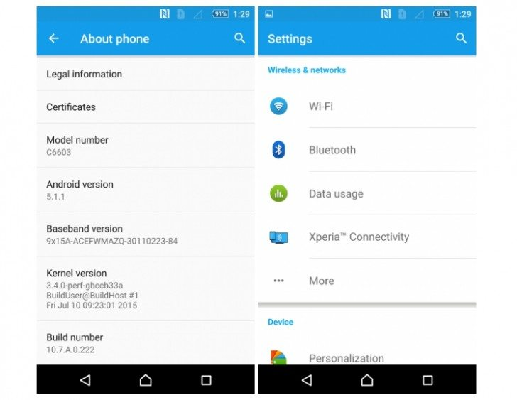 Sony Xperia Z Series Devices Receive Android 5 1 1 Lollipop