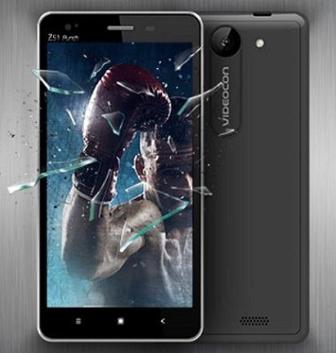 Videocon Infinium Z51 Punch launch, specs, features, image, price, specifications