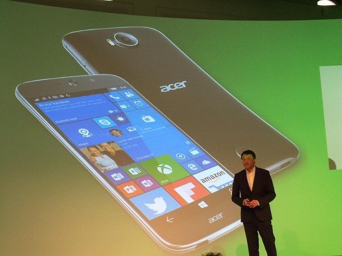 acer jade primo first to support Windows 10 Continuum