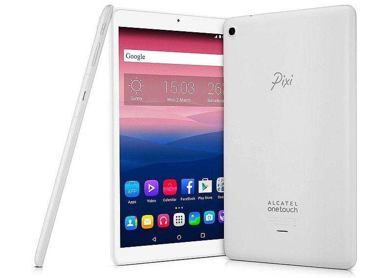 alcatel onetouch pixi 3 10 tablet, specs, features