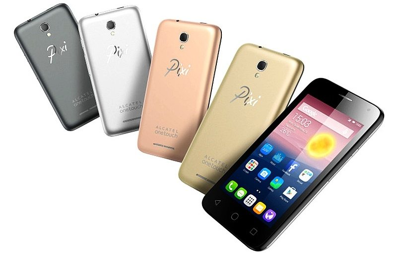 alcatel onetouch pixi first, features, photos