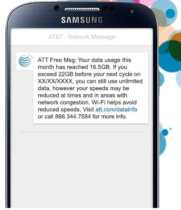 at&t raises high speed unlimited data cap from 5gb to 22gb