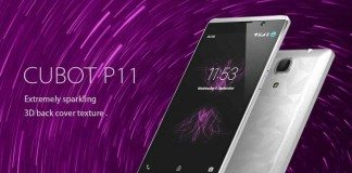 cubot p11 launches, price, features