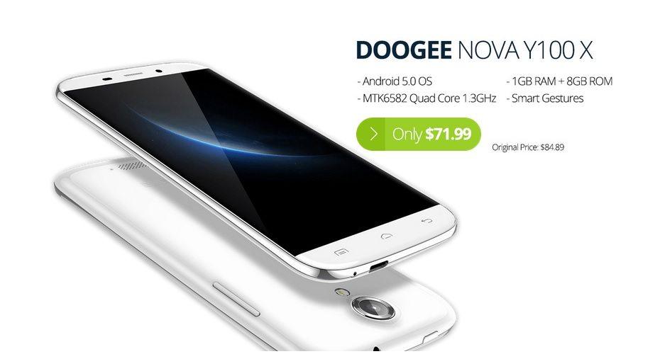 doogee nova y100x promotional sale