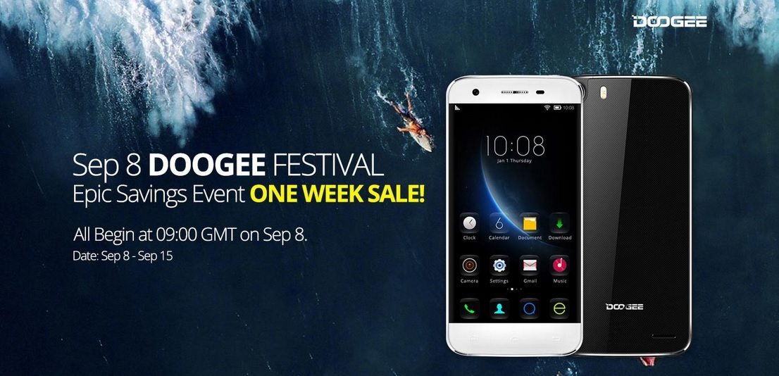 doogee smartphones promotional sale, offer, price deal