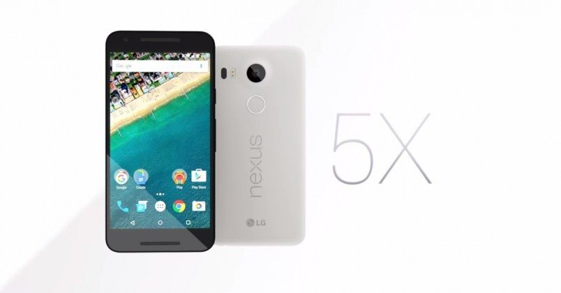 Nexus 5X, LG, google, launch