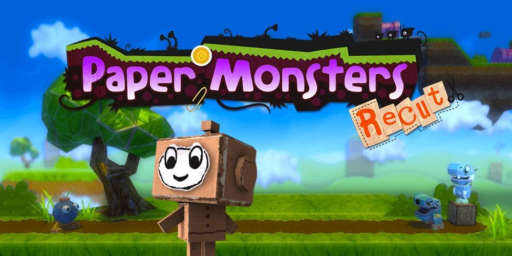 Paper Monsters Recut logo
