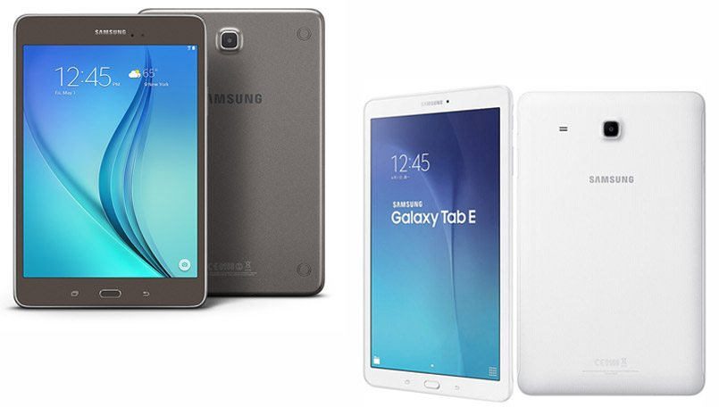 Samsung, Samsung Galaxy Tab E, Tablet, Verizon Wireless