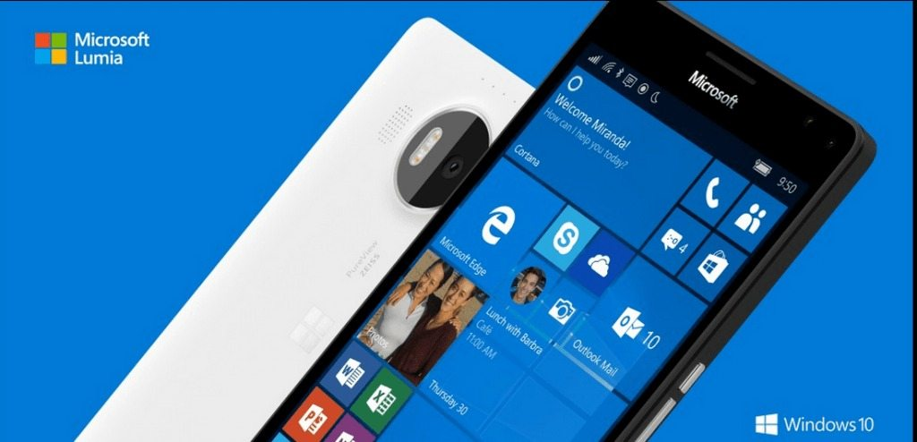 Windows 10, Microsoft Lumia 950, Lumia 950 XL, first images, video