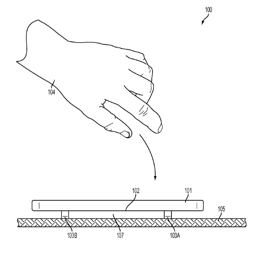 apple patent shatterproof