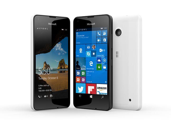 Microsoft, Microsoft Lumia 550, Windows 10, launch