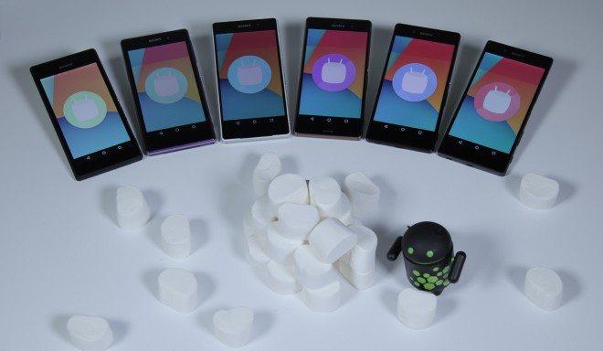 xperia marshmallow