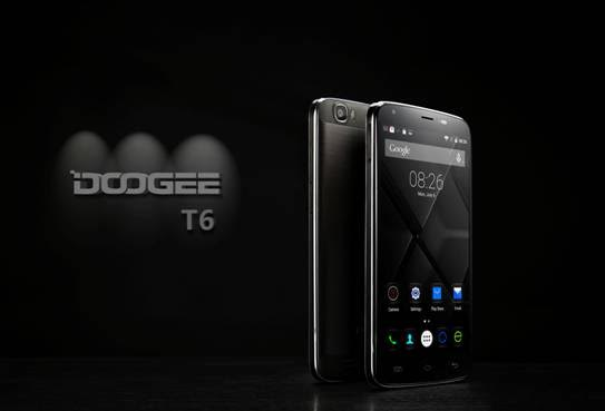 doogee t6, power bank, large battery